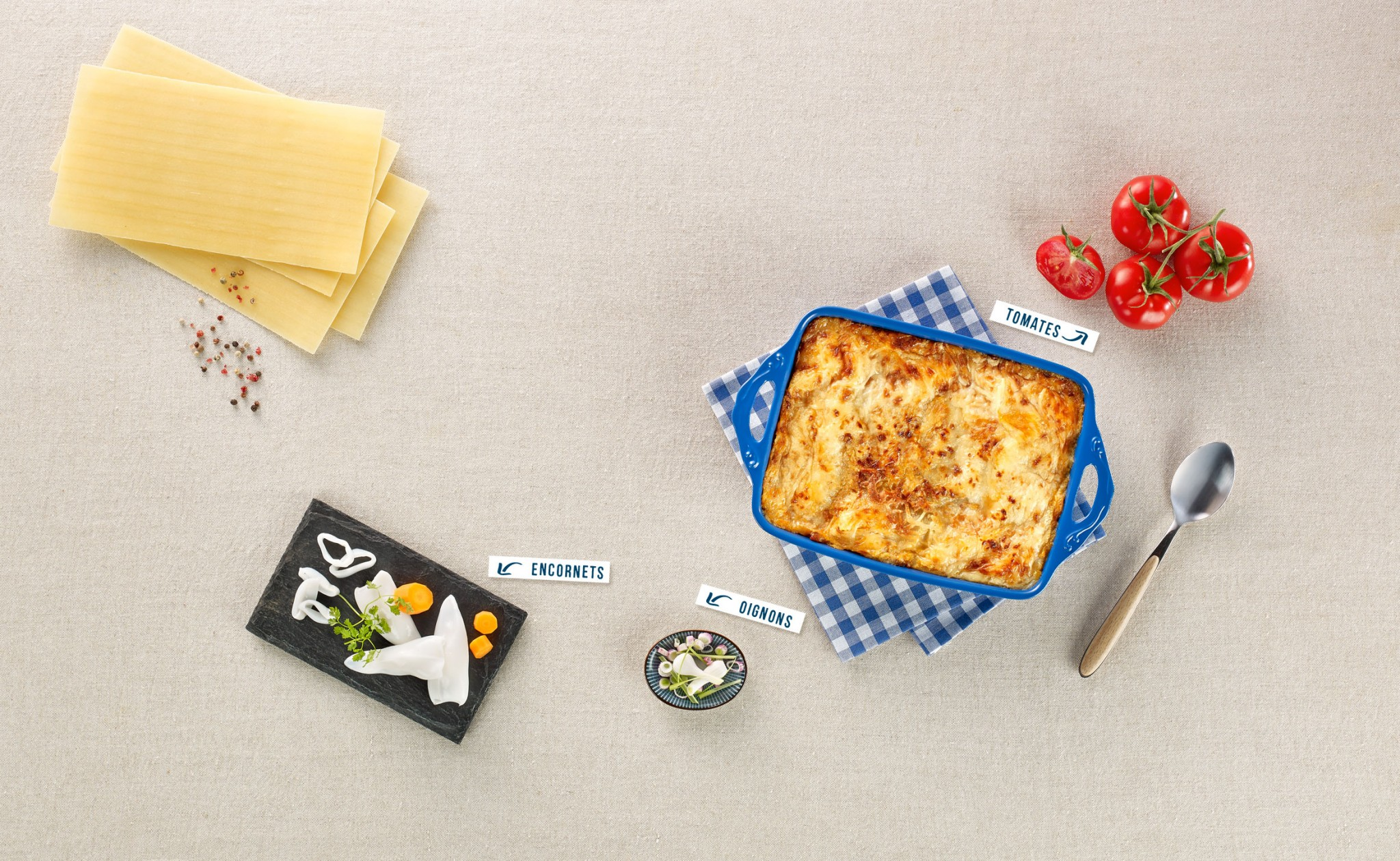 Lasagnes du poissonnier – suite